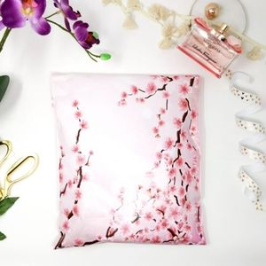 (40) 10x13 Cherry Blossoms Poly Mailers